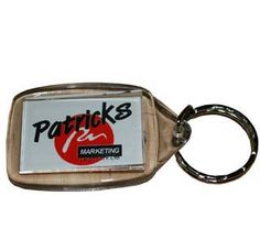 #Rectangular #Acrylic #Keyring with space for your promotional message, #branding or #logo in prime viewing position and customised to suit the #promotional product and your requirements.