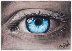 Stare death in the eye by acjub on DeviantArt Demon Eyes, Small Cards, Angel Eyes, Angels And Demons, Skull Art, Green Eyes, Fantasy Art, Death, Deviantart