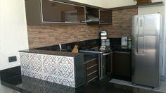 cozinha gourmet - área de churrasqueira
