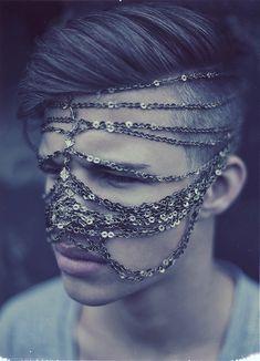 Chain Veil. Interesting concept.