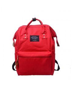 432bd6b18725 BCDshop Unisex Fashion Backpack School Travel Shoulder Tote Bag Daypack  Satchel Rucksack-Hot Sale! - Red - CJ18G73ZMED