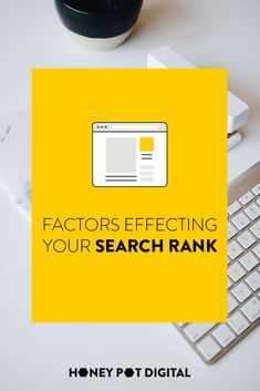 Sometimes, when looking to improve your search ranking, it can be a little confusing as to what you should change. This is a simple guide to what effects your ranking, so you can make sure you are focusing on what matters.