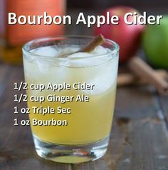 Bourbon Apple Cider