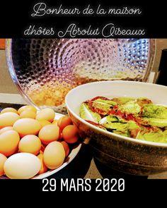 Ramasser les œufs, cueillir les salades au jardin , plaisir simple de notre quotidien Brunch, Breakfast, Simple, Food, Salads, Home, Morning Coffee, Essen, Meals
