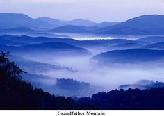Grandfather Mountain: only a couple hours from Asheville. I can actually go there.
