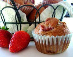 Berry-Smash Muffins Strawberry Muffins Recipe - Genius Kitchen