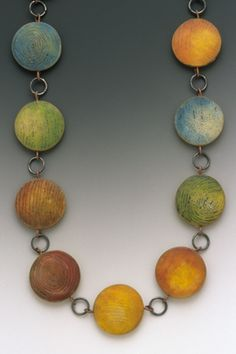 Etching Polymer Clay -Louise Fischer Cozzi