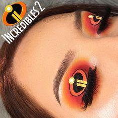 Disney Eye Makeup, Disney Inspired Makeup, Movie Makeup, Eye Makeup Art, Makeup Inspo, Eyeshadow Makeup, Makeup Inspiration, Fun Makeup, Eyeshadow Ideas
