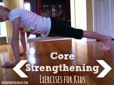 core strengthening exercises for This one is for you, Sarah! These are the easiest core strengthening exercises to help kids build a strong, solid foundation that will support their development in all areas. Pediatric Physical Therapy, Pediatric Ot, Occupational Therapy, Movement Activities, Therapy Activities, Motor Activities, Therapy Ideas, Physical Activities, Fitness Activities