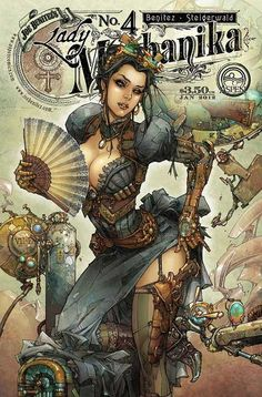 Costume Journal 2012 // Lady Mechanika