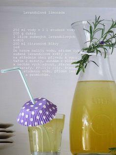 Levandulová limonáda Hurricane Glass, Cooking, Tableware, Kitchen, Dinnerware, Tablewares, Dishes, Place Settings, Brewing