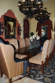 Old World Formal Dinning Space - Dining Room Designs - Decorating Ideas - HGTV Rate My Space