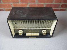 Philips Tube Radio Model B2D08U Philetta de luxe Vintage 1960 #Philips
