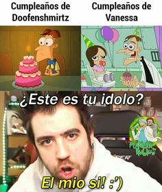 Reaction Pictures, Funny Pictures, School Pictures, Wtf Funny, Stupid Funny Memes, Funny Spanish Memes, Spanish Humor, Phineas E Ferb, Boyfriend Memes
