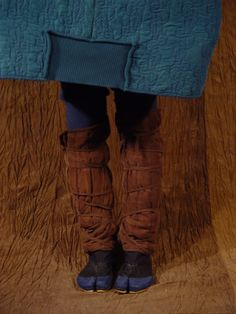 beautiful slowfashion hand dyed silk and margiela tabi shoes <3
