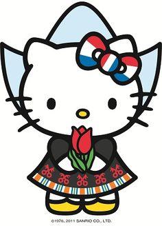Ben je op zoek naar versiering op maat? #naamslingers #tekstslingers #vlaggenlijnen #traktatiezakjes en doosjes en andere #feestartikelen. Slingerlandwinkel.nl maakt het voor je met afbeeldingen van Hello Kitty