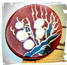 Vintage Enameled Jewelry Hand Painted by GemstoneJewelrybyVal