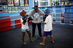 For many young residents the Luta Pela Paz (Fight For Peace) academy offers a glimpse of an alternative: a chance to build discipline and self-esteem through boxing and martial…