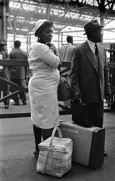 These archive photos show the Windrush generation arriving in London