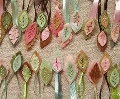 This would be adorable on long ribbons for a curtain in Eva's room!