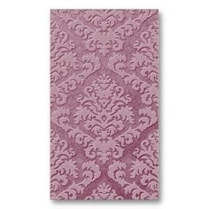 Damask Cut Velvet, Double Damask Monotone in Gray Business Cards