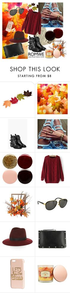 """""""Red wine"""" by tamara-sucha ❤ liked on Polyvore featuring MANGO, Nails Inc., Harvest, Linda Farrow, rag & bone, Marc by Marc Jacobs, H&M and Sonoma life + style"""