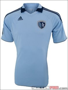 adidas Sporting KC Home Jersey 2012...$71.99    My bf wants one of these...  :P