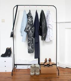 boutique style peek inside elineu0027s minimalist home in belgium live from ikea family wardrobe