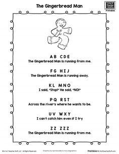 138 Best Gingerbread Man Kindergarten Images Gingerbread Man