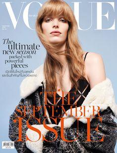 Alisa Ahmann, Vogue Magazine [Thailand] (September 2016)