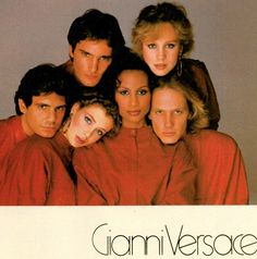 GIANNI VERSACE Spring Summer 1981 featuring BEVERLY JOHNSON, ROSIE VELA, KELLY Le BROCK, & unknowns