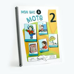 Mon sac à mots, vol. 2 More Words, New Words, Writing Exercises, References Page, Spelling Words, Expressions, In Writing, Kids Learning, Sentences