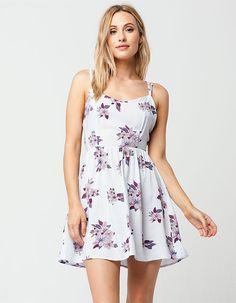 FULL TILT Floral Cross Back Dress