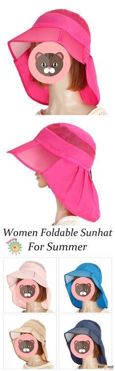 Women Foldable Sunhat cab457977421