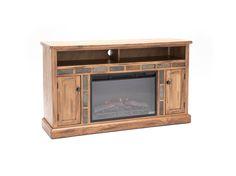 Sunny Designs Sedona Fireplace Console #steinhafels