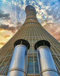 The Tallest  Torch Tower #Doha #Qatar @arshadinamdar  TAG YOUR PHOTOS  #Qatarism