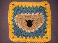 crochetroo: Bonnet Babies crochet square (free pattern)