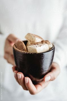 hot chocolate with marshmallows ♥