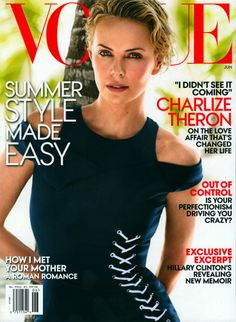Vogue U.S. June 2014 | Charlize Theron by Mario Testino