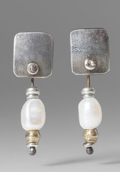 Holly Masterson Small Baroque Pearl Earrings