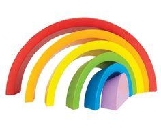 Regenboog - Met deze regenboog maak je de mooiste vormen. Geschikt voor kleintjes vanaf 2 jaar.
