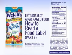 Dissecting packaged food: How to read a food label (part 2) - The Real Food Guide therealfoodguide.com