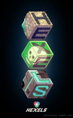 Hexels art made with Hexels.