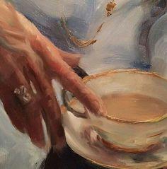 New coffee art painting heart ideas Aesthetic Painting, Aesthetic Art, Aesthetic Outfit, Bel Art, John Singer Sargent, Sargent Art, Art Hoe, Classical Art, Renaissance Art