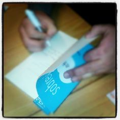 Firma de ejemplares