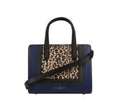 Gorgeous leather handle bag Blumarine with frontal leopard print patch Pauls Boutique UK brand - it can be easily mixed in elegant and casual outfits, with denim pieces, for instance. Clutch Bag, Crossbody Bag, Tote Bag, Georgia, Paul's Boutique, Uk Brands, Coral, Brand It, Leather Handle
