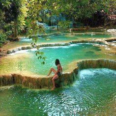 The Nicest Pictures: Erawan National Park, Kanchanaburi, Thailand