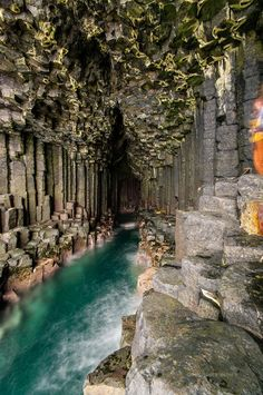 7. Fingals cave, Isle of Staffa, Inner Hebrides--scotland landscapes