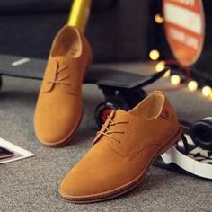 MENS COOL CASUAL SHOES · 2017 Hot Sale Fashion Men Suede Leather Casual  Shoes men spring autumn tide brand Designer Casual 8fa89a3c7d38