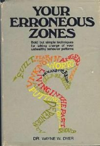 Your Erroneous Zones by Dr Wayne Dyer. Fascinating book about people's self destructive habits. My dad got this for my mom.  More than a decade later, after I read it, I realised they both needed to learn from it, as did I.